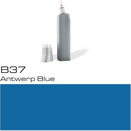 COPIC Nachfülltank für COPIC Marker, antwerp blue B-37