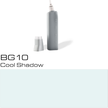 COPIC Nachfülltank für COPIC Marker, cool shadow BG-10