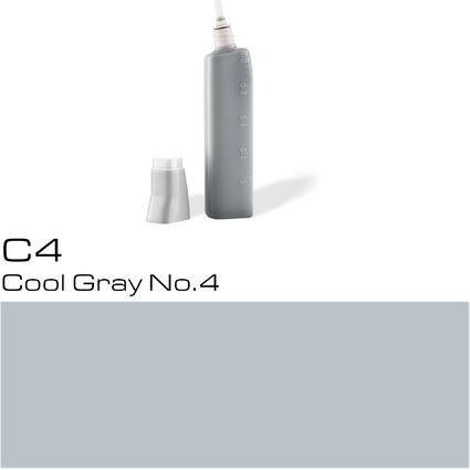 COPIC Nachfülltank für COPIC Marker, cool gray C-4