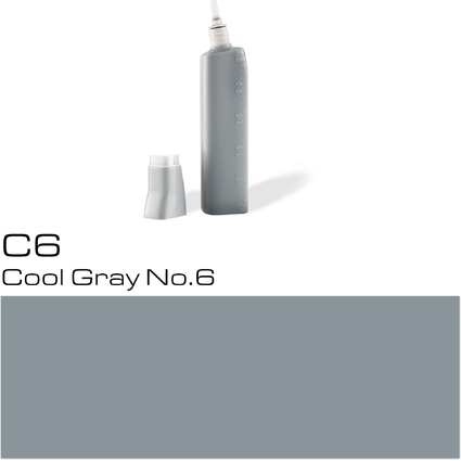COPIC Nachfülltank für COPIC Marker, cool gray no. 6