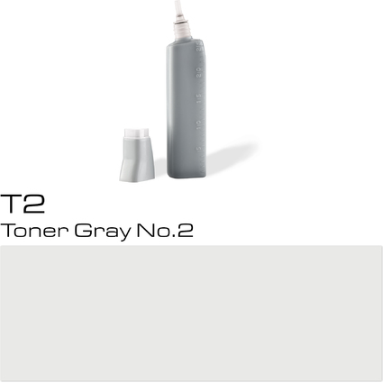 COPIC Nachfülltank für COPIC Marker, toner gray T-2