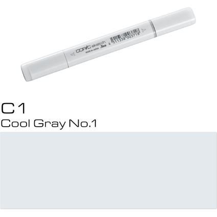 COPIC Profi-Pinselmarker sketch, cool gray No.1