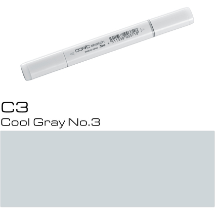 COPIC Profi-Pinselmarker sketch, cool gray No.3