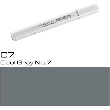 COPIC Profi-Pinselmarker sketch, cool gray No.7