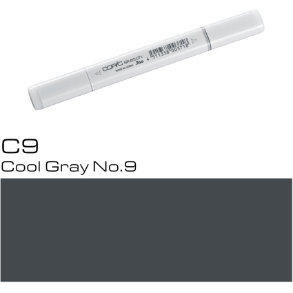 COPIC Profi-Pinselmarker sketch, cool gray No.9