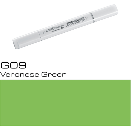 COPIC Profi-Pinselmarker sketch, verones green