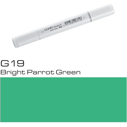 COPIC Profi-Pinselmarker sketch, bright parrot green