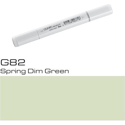 COPIC Profi-Pinselmarker sketch, spring dim green