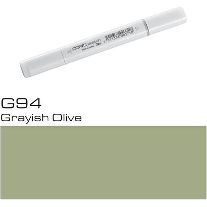 COPIC Profi-Pinselmarker sketch, grayish olive