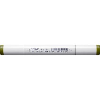 COPIC Profi-Pinselmarker sketch, olive