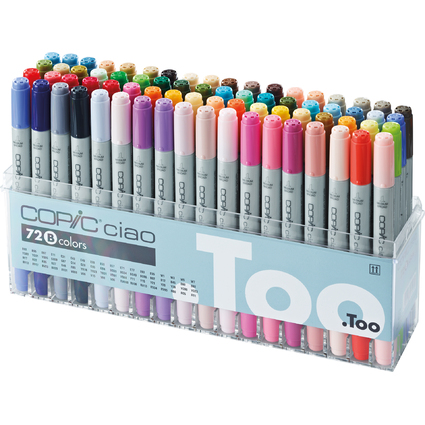 COPIC Hobbymarker ciao, 72er Set B