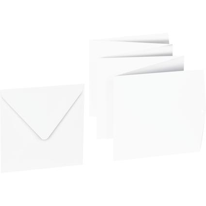 HEYDA Leporello-Faltalbum, 220 g/qm, 6 Seiten, weiß