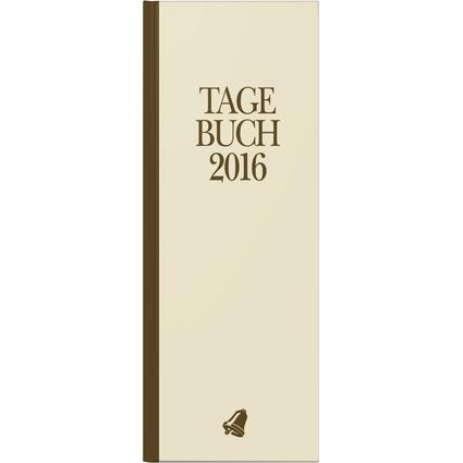 """Glocken Tischkalender """"Tagebuch"""", 2017, beige"""