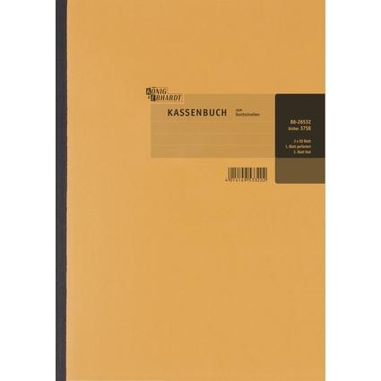 KÖNIG & EBHARDT Kassenbuch, DIN A4, Bruttoverbuchung