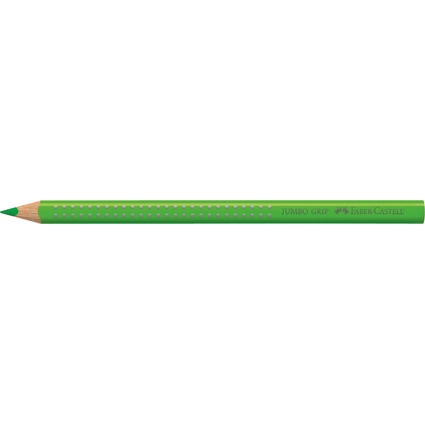 FABER-CASTELL Dreikant-Buntstift Jumbo GRIP, grasgrün