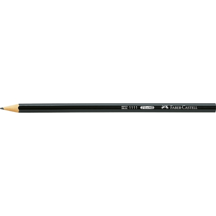 FABER-CASTELL Bleistift 1111, sechseckig, Härtegrad: HB