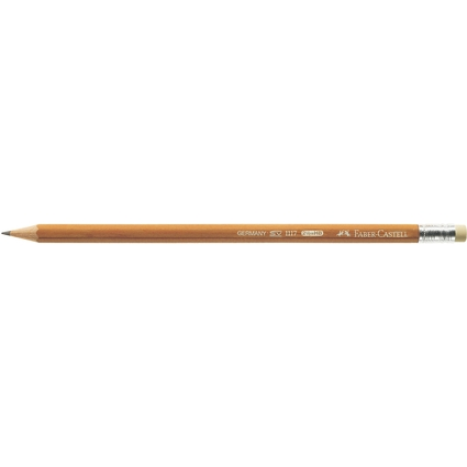 FABER-CASTELL Bleistift 1117, sechseckig, Härtegrad: HB