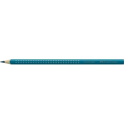 FABER-CASTELL Dreikant-Buntstift Colour GRIP, kobalttürkis