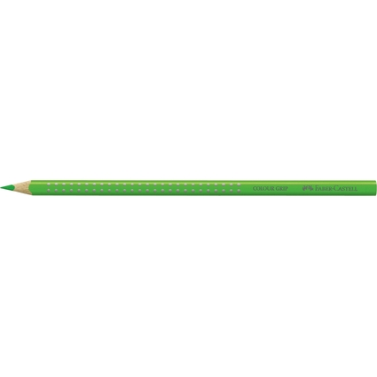 FABER-CASTELL Dreikant-Buntstift Colour GRIP, grasgrün