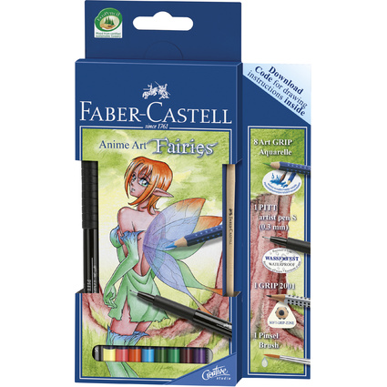 "FABER-CASTELL Anime Art Set ""Fairies"""