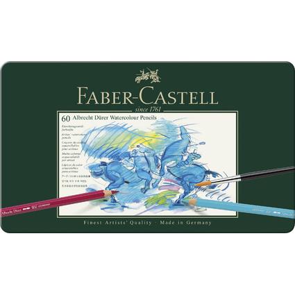 FABER-CASTELL Aquarellstifte ALBRECHT DÜRER, 60er Metalletui