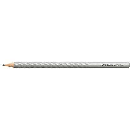 FABER-CASTELL Bleistift DESIGN, silber