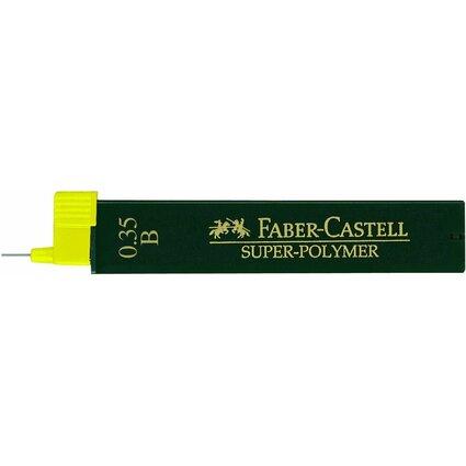 FABER-CASTELL Druckbleistift-Minen Super-Polymer 9063 S-B