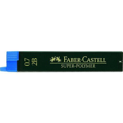 FABER-CASTELL Druckbleistift-Minen Super-Polymer 9067 S-2B