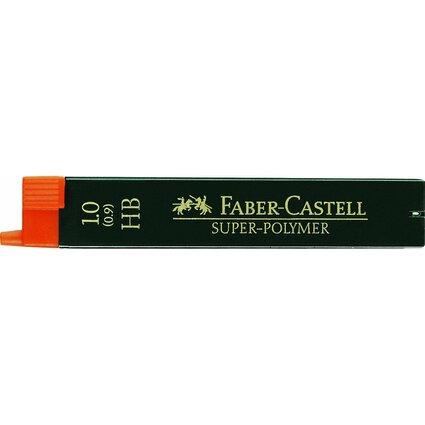 FABER-CASTELL Druckbleistift-Minen Super-Polymer 9069 S-HB