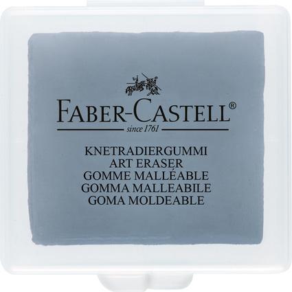 FABER-CASTELL Knetgummi-Radierer ART ERASER, grau