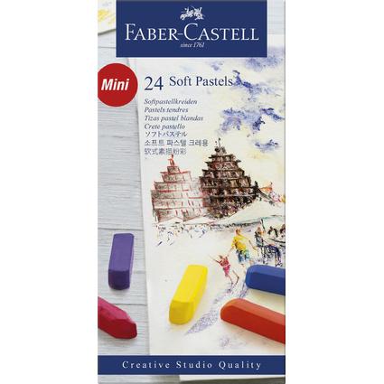 FABER-CASTELL Softpastellkreiden CREATIVE STUDIO, 24er Etui