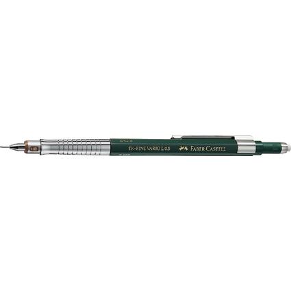 FABER-CASTELL Druckbleistift TK-Fine Vario L, grün