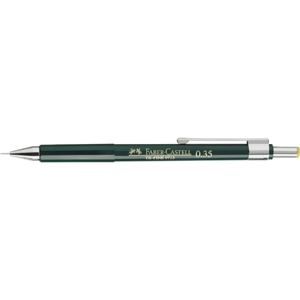 FABER-CASTELL Druckbleistift TK-Fine 9713, grün
