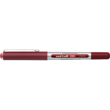 uni-ball Tintenroller eye micro, Strichfarbe: rot