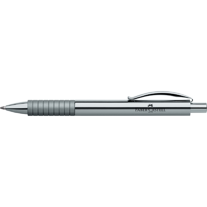 FABER-CASTELL Kugelschreiber BASIC METALL, glänzend