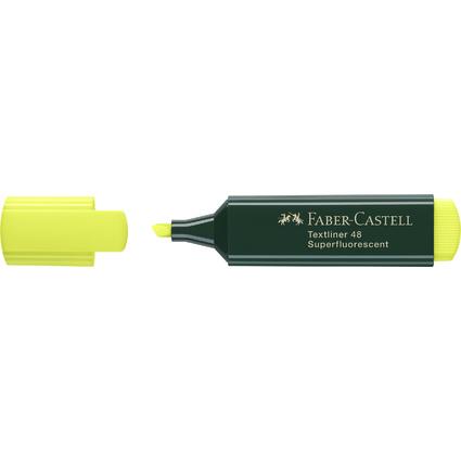 FABER-CASTELL Textmarker TEXTLINER 48 REFILL, gelb