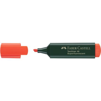 FABER-CASTELL Textmarker TEXTLINER 48 REFILL, orange