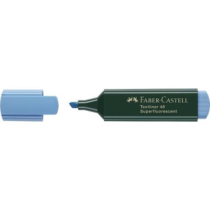 FABER-CASTELL Textmarker TEXTLINER 48 REFILL, blau