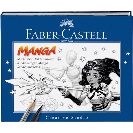 """FABER-CASTELL Tuschestift PITT artist pen, Set """"Manga"""""""