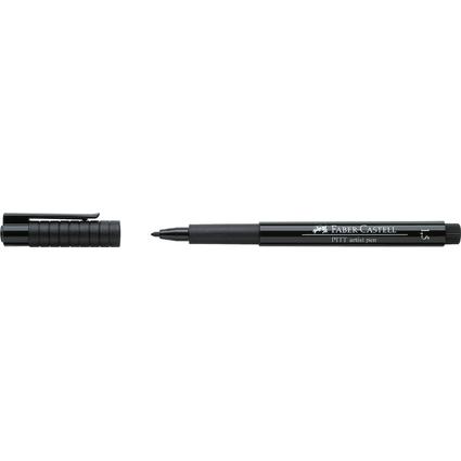 FABER-CASTELL Tuschestift PITT artist pen, schwarz