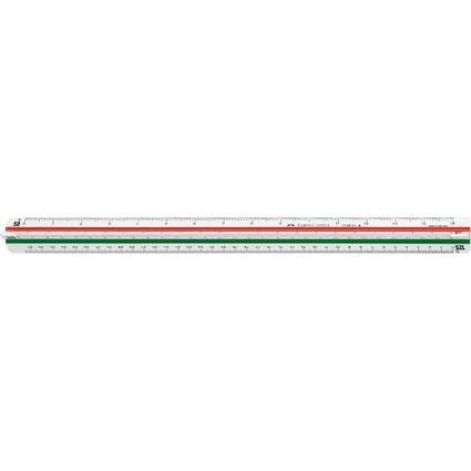 FABER-CASTELL Dreikant-Maßstab 853 HP/A