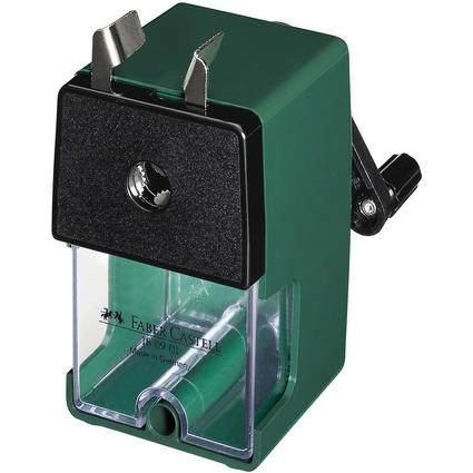 FABER-CASTELL Spitzmaschine klein, grün