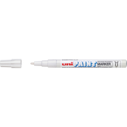 uni-ball Permanent-Marker PAINT (PX-21), weiß