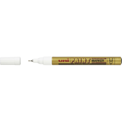 uni-ball Permanent-Marker PAINT (PX-203), gold