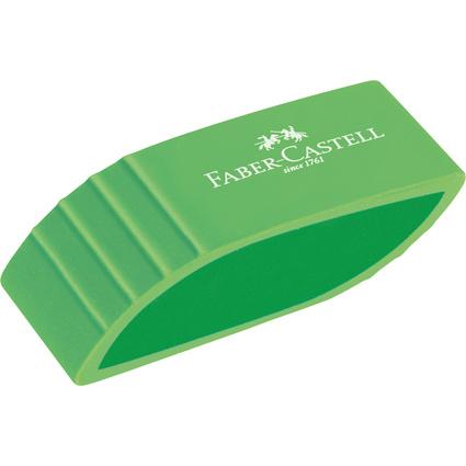 FABER-CASTELL Kunststoff-Radierer BICOLOR, sortiert