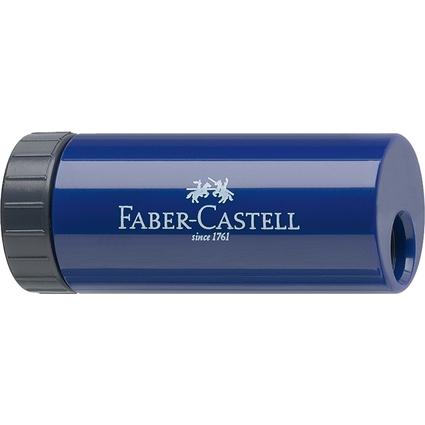 FABER-CASTELL Einfachspitzdose, brombeer / blau