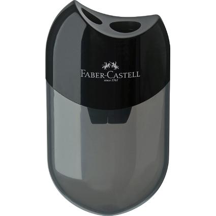 FABER-CASTELL Doppelspitzdose, schwarz