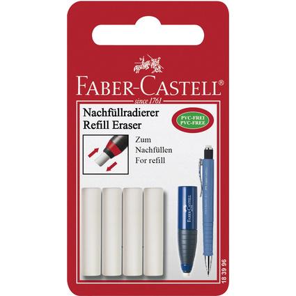 FABER-CASTELL Ersatzradierer für Radierstift