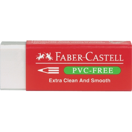FABER-CASTELL Kunststoff-Radierer 7095 PVC-FREE