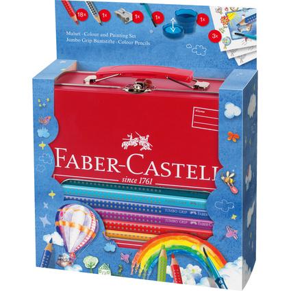 FABER-CASTELL Dreikant-Buntstifte Jumbo GRIP, Set Ballon